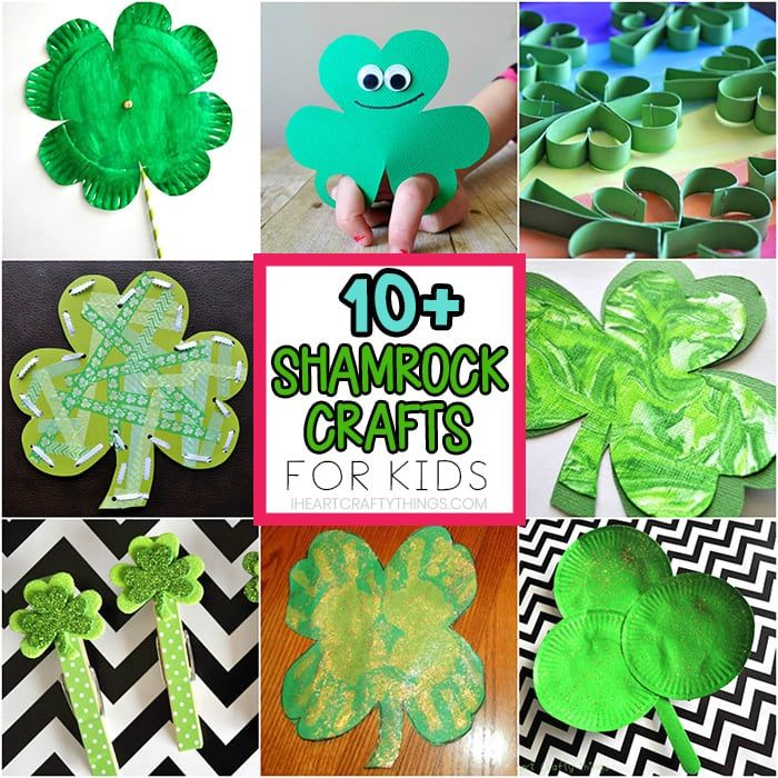 St Patrick S Day Crafts For Kids 40 Art And Craft Project Ideas