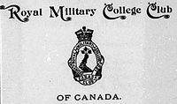 Royal Military College Club of Canada, Royal Military College of Canada, Kingston, Ontario, Canada