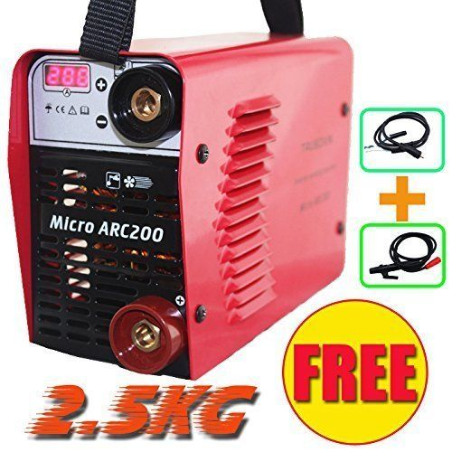 NEW Current Display MINI IGBT Inverter DC Arc Welding Machine 200AMP MMA Stick Welder Micro ARC200 – Welders For Sale – UK