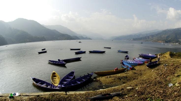 Jezioro przy Pokharze
