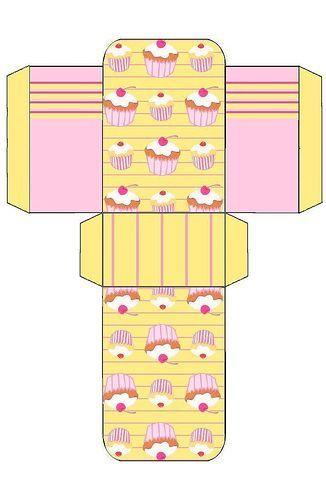 cupcake box: