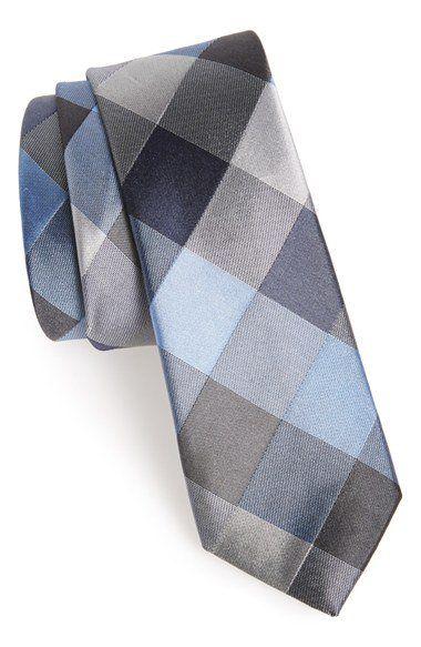 Calibrate Woven Silk Tie   Nordstrom