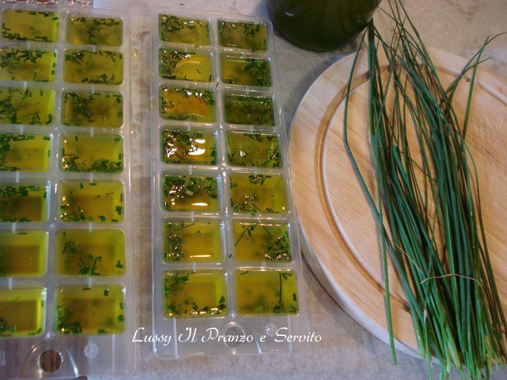 Cubetti+di+olio+di+oliva+alle+erbe+aromatiche