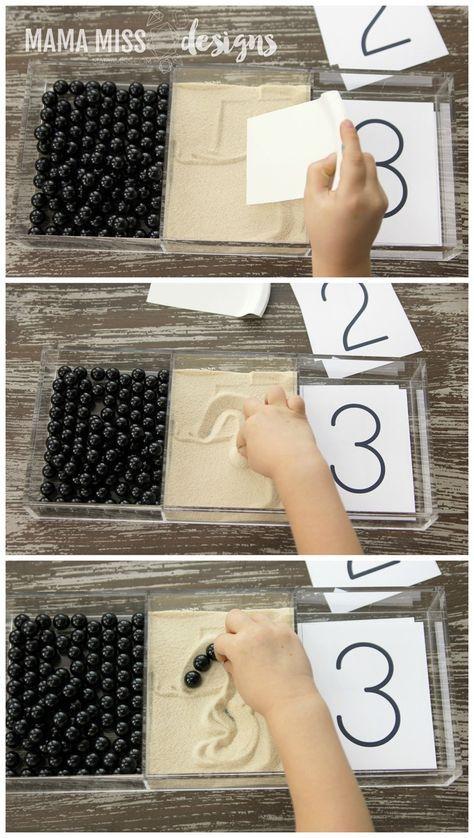 Bolletjes - zand - cijfers
