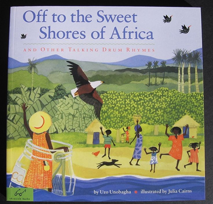 Book - Off to the Sweet Shores of Africa by Uzo Unobagha/ illustrator, Julia…