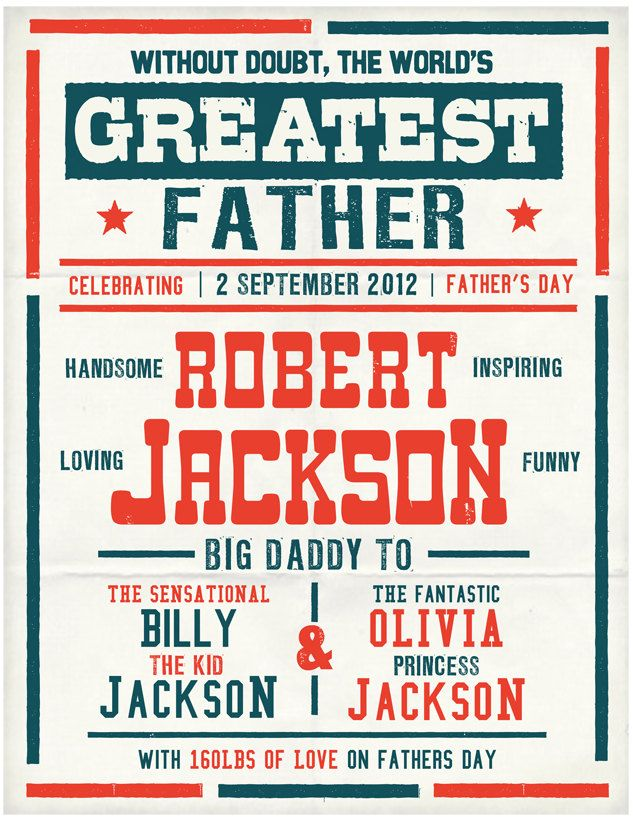 Australia Fathers day Custom boxing poster printable PDF. $14.00, via Etsy.