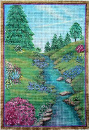 Summer Stream by Sharon G Needlepoint Designs
