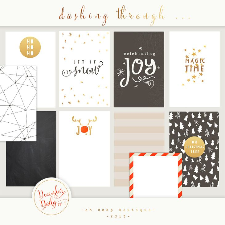 Project Life December Daily vol 2 Personal Use Only