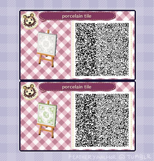 De 416 b sta acnl qr codes bilderna p pinterest for Floor qr codes new leaf