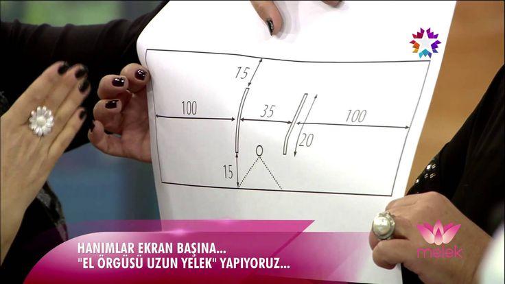 Trabzan Tekniği ile Uzun Yelek Yapımı - YouTube
