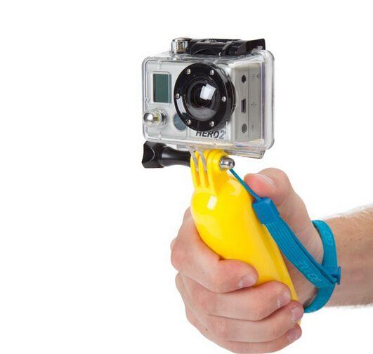 Bobber flotante handheld monopod para gopro accesorios para hero 4 3 3 2 1 soprts xiaoyi sjcam sj4000 cámara de la acción mini dv