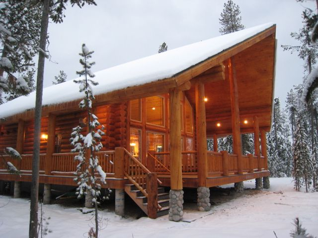 Bear River Country Log Homes - Log Home Packages Utah, Idaho, Wyoming | Bear River Country Log Homes