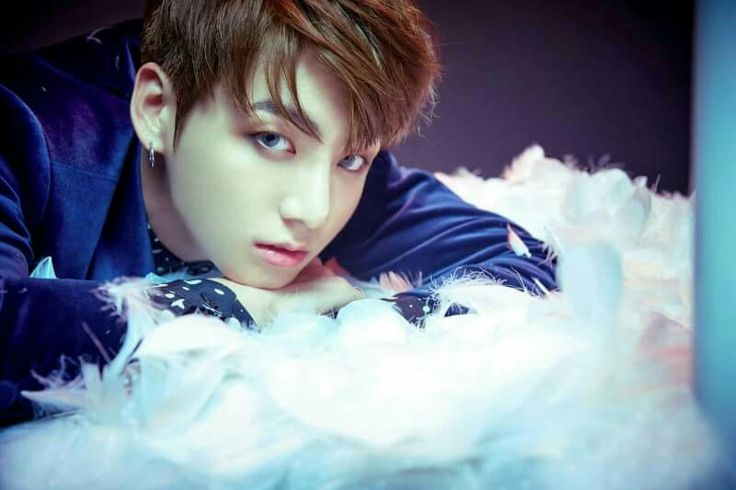 This #Makeup and softlens tho the photo editor used the right filter♡ #Jungkook #BTS #BangtanBoys
