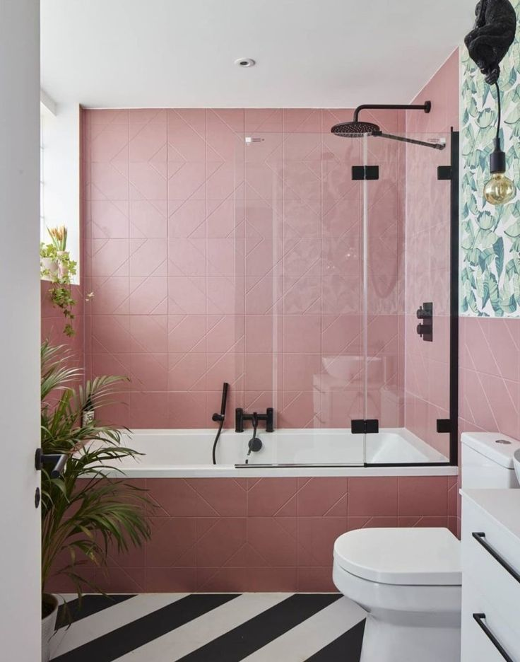 Gorgeous Pink Bathroom Ideas And Inspiration In 2020 Pink Bathroom Decor Pink Bathroom Glamorous Bathroom Decor