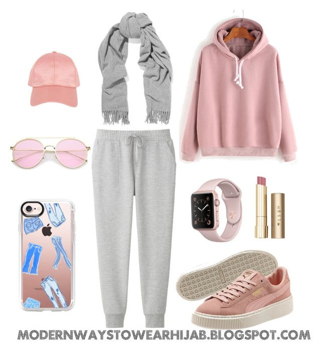 """Sport Outfit"" by azzahraabelgassab on Polyvore featuring mode, Uniqlo, Stila, Acne Studios, Armitage Avenue et Casetify"