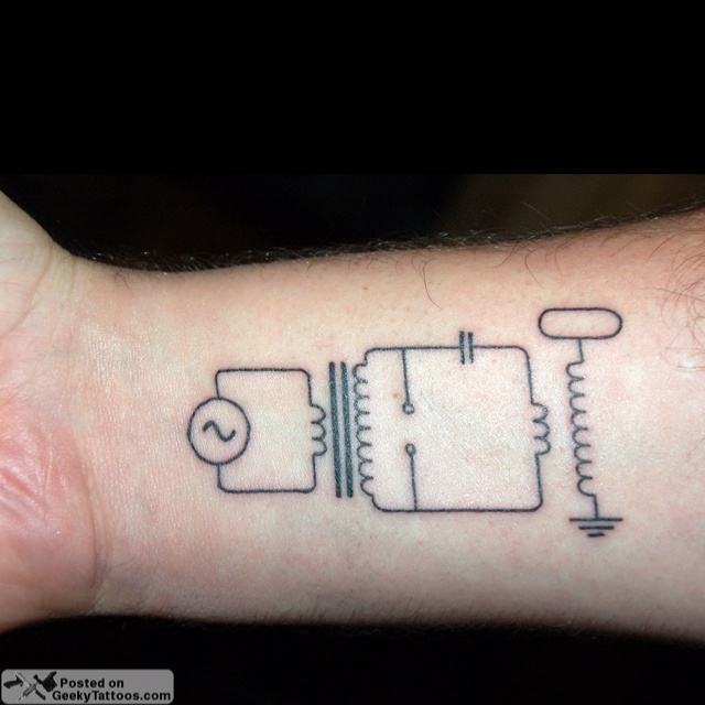 17 Best Images About Nikola Tesla Tattoo On Pinterest