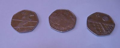 5 x olympics 50p #london 2012 boxing #canoeing tennis horse #jumping fencing (cir,  View more on the LINK: http://www.zeppy.io/product/gb/2/381726127504/