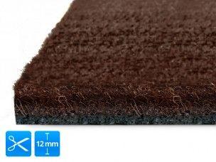 Kunst-Kokosmatten | 12 mm | Braun