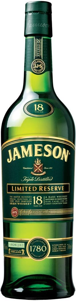 To try for around $125 - Jameson Irish whiskey