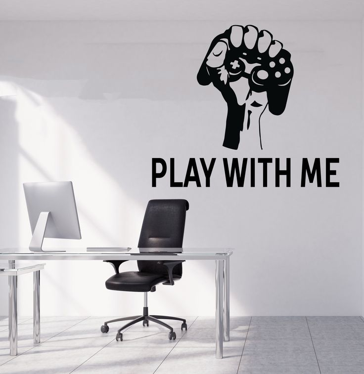 Gamer Wall Decal Gamer Decals Controller Decals Personalized Gamer Room 3060