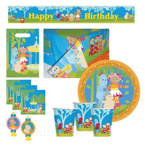 Playskool in the Night Garden Party Table Ware for 24 by hasbro. $144.99. This In the Night Garden party set features full color tableware, decorations and napkins all in one pack. This set is suitable for 24 people.