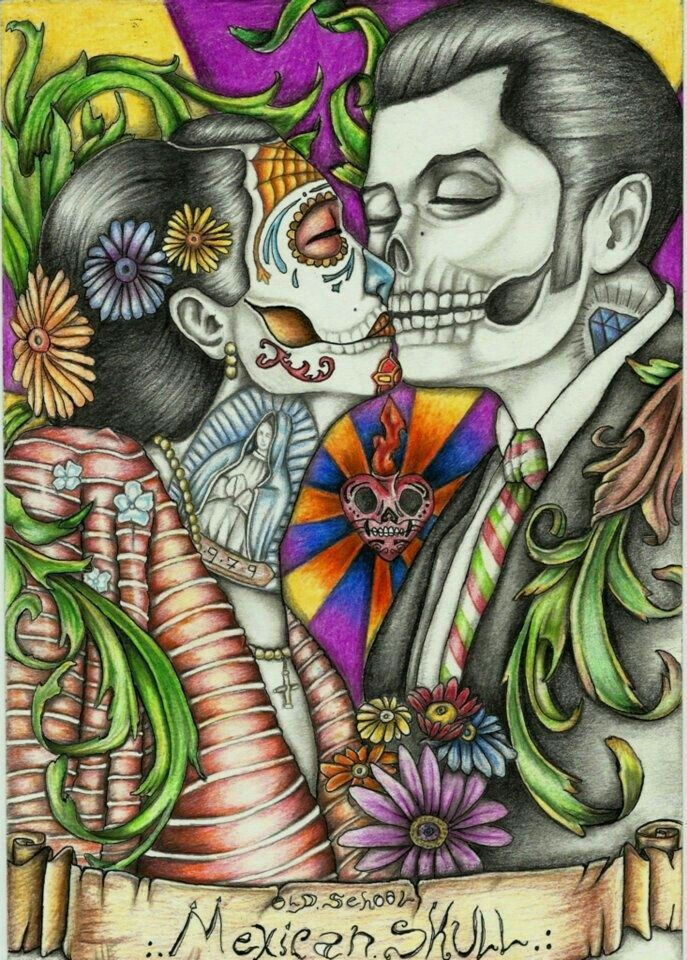 Pin By Eddie Munster On Chicano Chicana Art Skull Sugar Skull