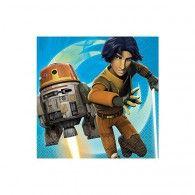 Star Wars Rebels Luncheon Napkins Pkt16 $8.95 A511841
