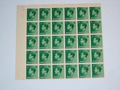 Stamp Pickers Great Britain 1936 Edward VIII MNH Block Lot Sc #230 $28+