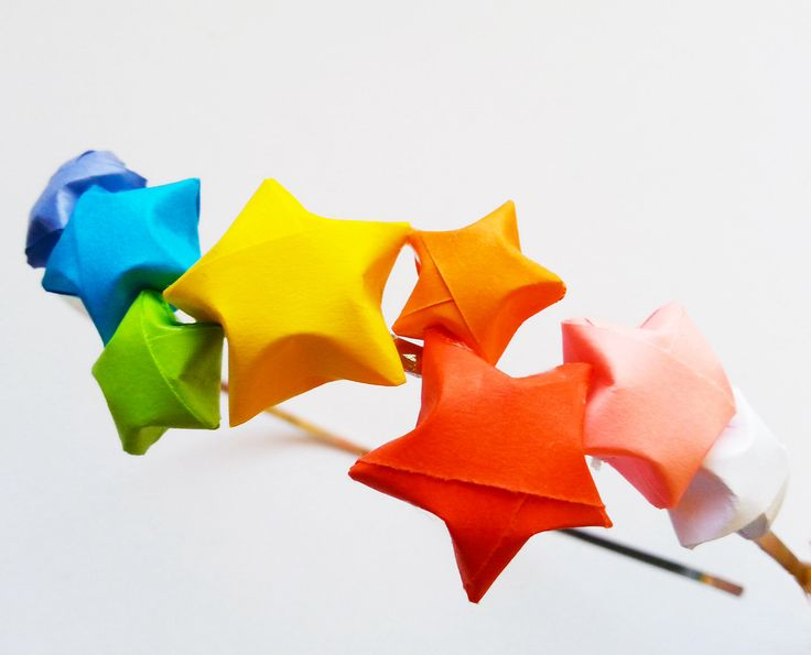 1000 ideas about origami lucky star on pinterest paper