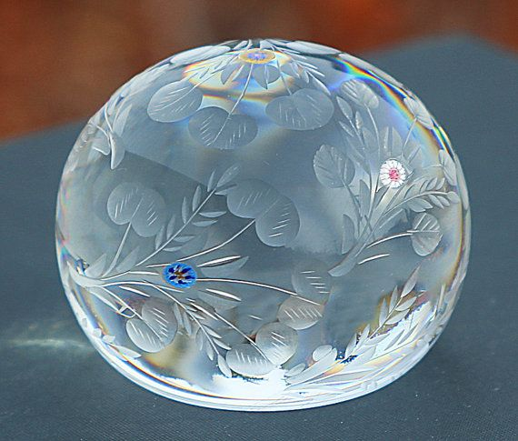 St. Louis, France - Crystal Paperweight