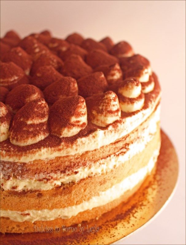 Torta tiramisù (Ricetta di Montersino per la crema)