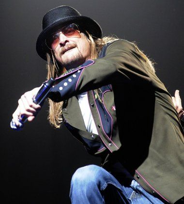 Kid Rock performs for a sold-out crowd Jan. 25 at Van Andel Arena.