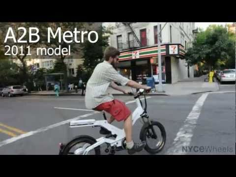 Awesome Electric Bike (A2B Metro). 2011 A2B Metro Electric Bike Review