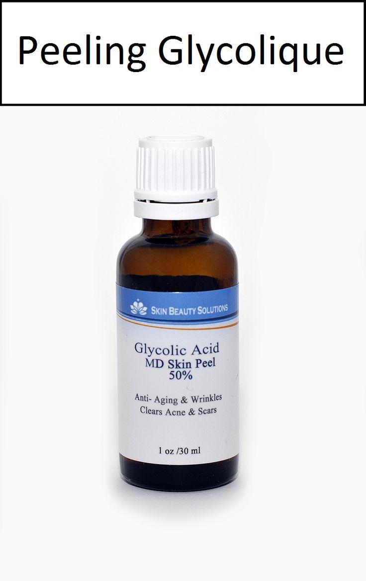 Acide Glycolique 50% 30ml pH 2.0 Solution Peeling Chimique. Idéal pour enrayer les fines rides et taches de soleil. Contient assez de solutions pour 15 peelings. Prix : 43,00 €