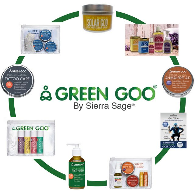 Green Goo Makes Sage Health Care Products For You ...