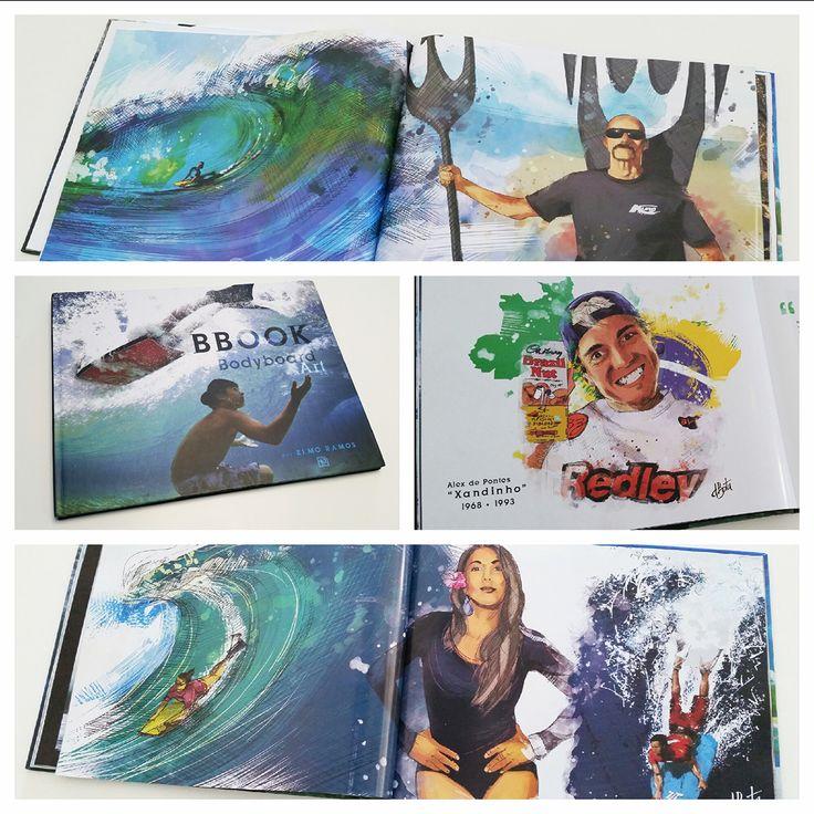 Book Bodyboard Art