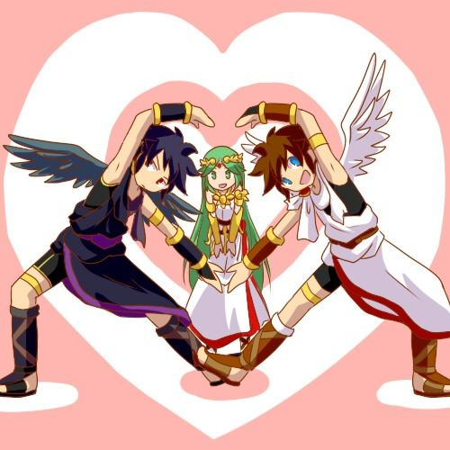 Images Of Palutena And Pit