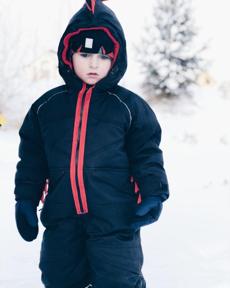 Boys wear by IVanskayaVIberg. Зимний комбинезон. Romper. Winter combination.