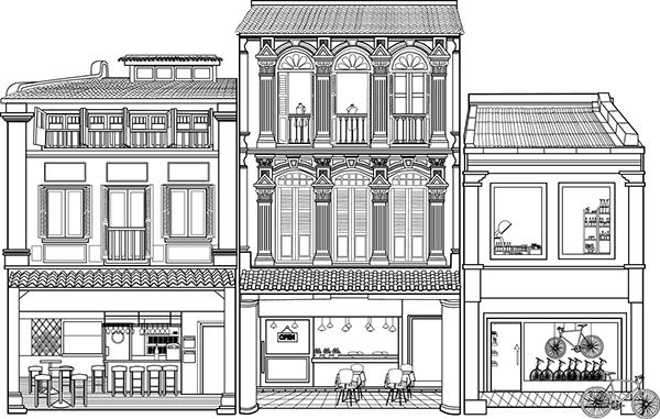Shophouse Mailer | Colliers on Behance