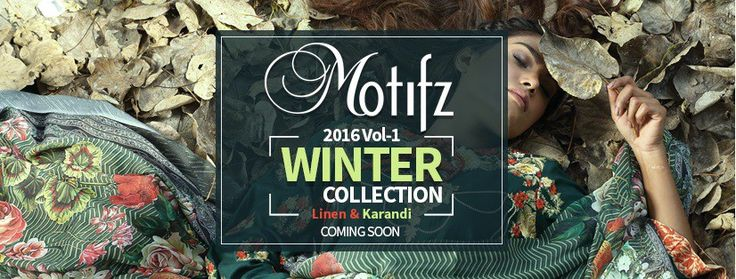 Latest Motifz Winter Linen Collection 2016-17