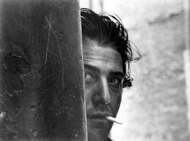 (New York) Dustin Hoffman in Cowboy de medianoche by John Schlesinger (1969)
