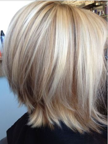 Color - Blonde with lowlights. The Length is good too.