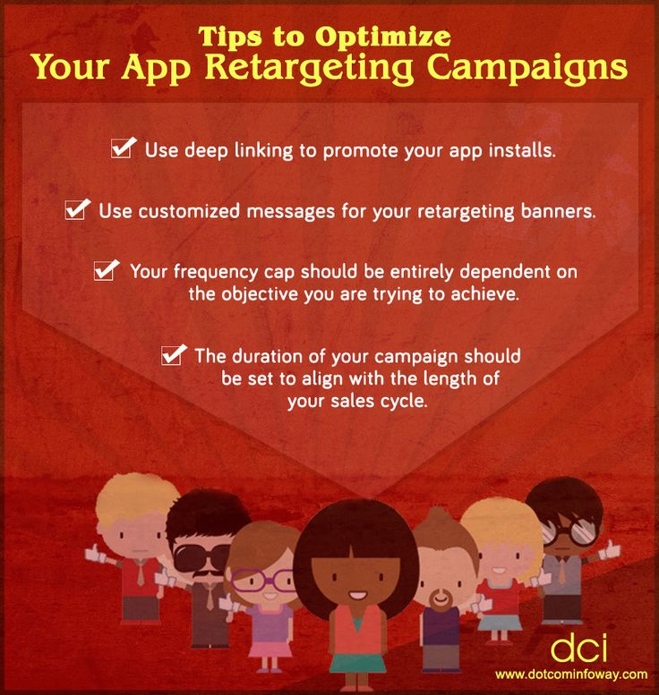 Looking for some tips to optimize your app retargeting campaign? Check out some useful tips below!