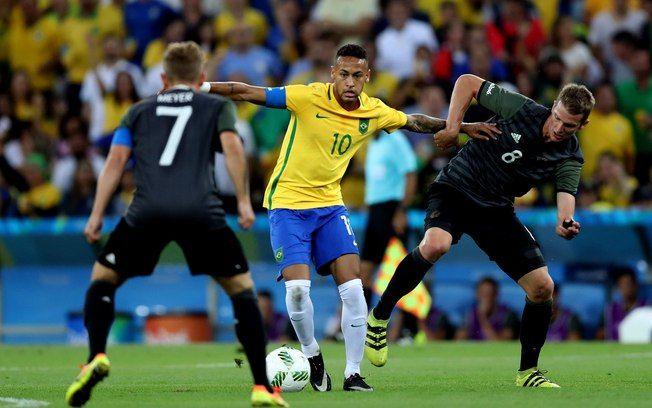 Brasil e Alemanha jogaram a final do futebol nos Jogos Olímpicos do Rio de…