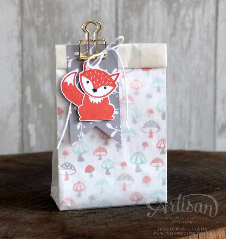 Convert Glassine Gift Bags into sacks for another loot bag idea ~ Jessica Williams