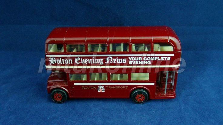 CORGI DOUBLE DECKER BUS | MADE IN GB | BOLTON EVENING NEWS | BOLTON TRANSPORT