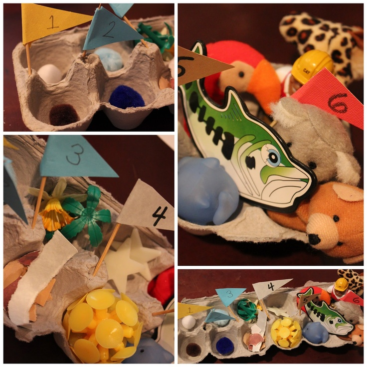 Creation Egg Carton day-by-day...this woman has a really great idea for each day!