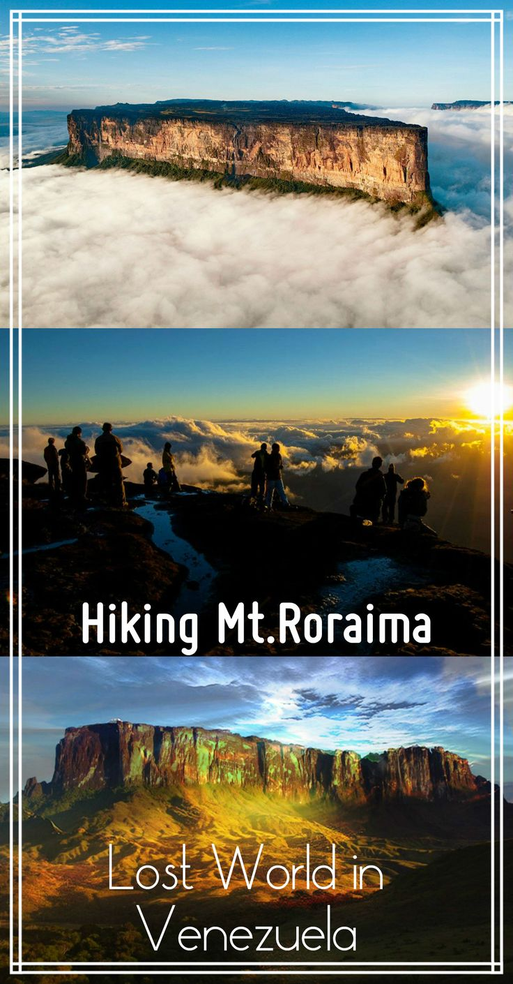 Complete guide to hiking mount Roraima, Venezuela on a budget, 30$. How to get, guide recommendation, budget, itinerary, packing tips, Santa Elena de Uairen, 7 day hike, lost world in Venezuela, Roraima trek.