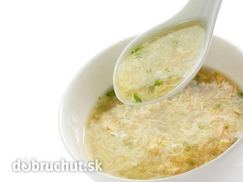 Rascová polievka s vajcom