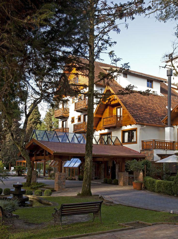 Bavaria Sport Hotel, Gramado, Fachada do hotel